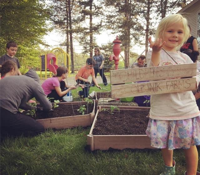 Marley and the Children's Garden