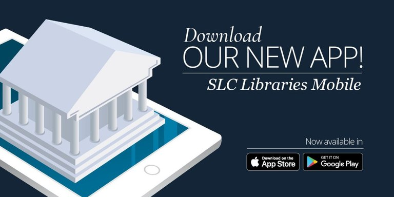 SLC logo with app info link